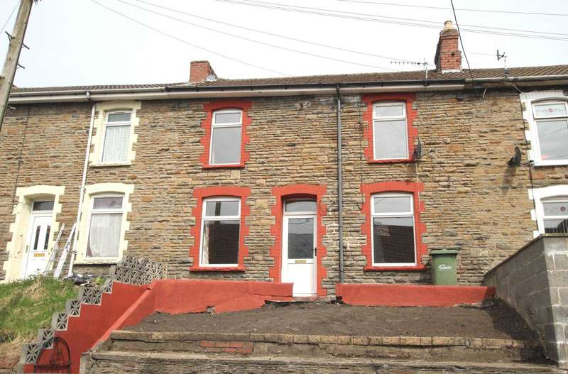 3 Bedrooms Terraced House for sale in Queens Road, Elliots Town, New Tredegar, NP24 6DZ