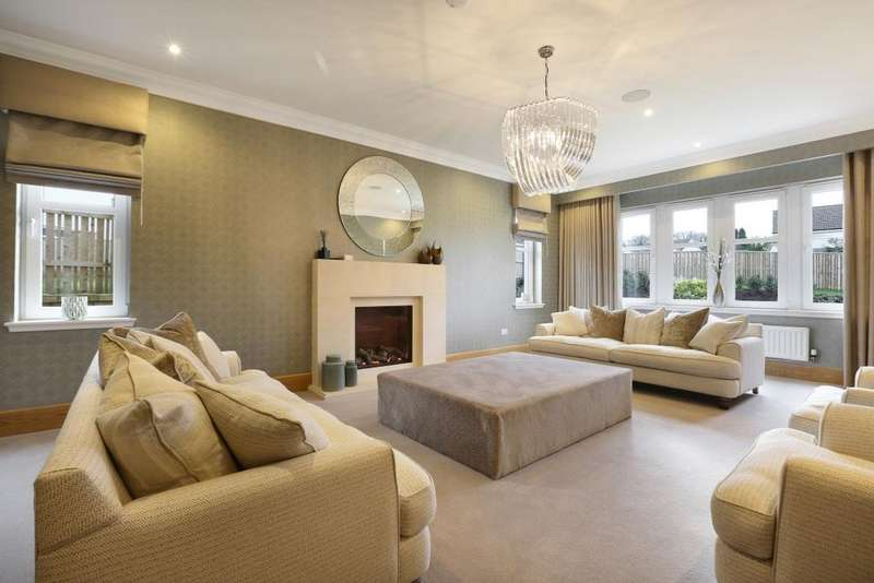 5 Bedrooms Villa House for sale in Frederick Boulevard, Thorntonhall, Glasgow, G74