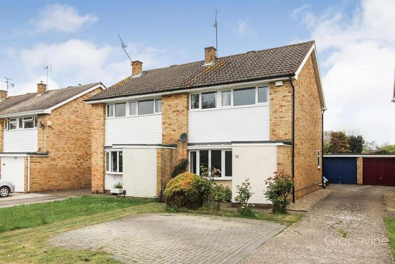 3 Bedrooms Semi Detached House for sale in Renault Road, Woodley, Reading