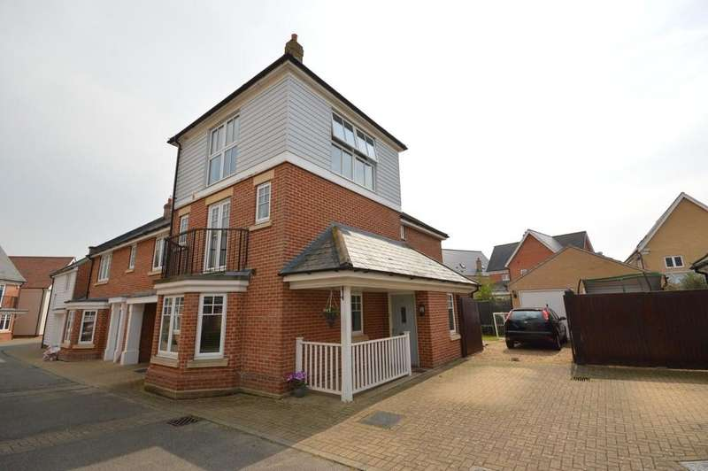 4 Bedrooms Link Detached House for sale in Pattinson Walk, Great Horkesley