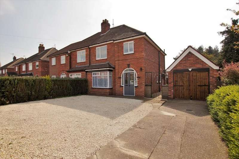 3 Bedrooms Semi Detached House for sale in Doddington Road, Lincoln