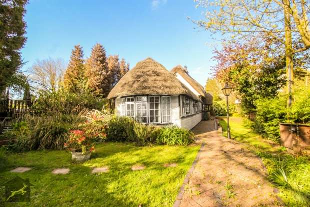 4 Bedrooms Detached House for sale in Thatched Cottage, Noak Hill Road, Essex, RM3 7LS