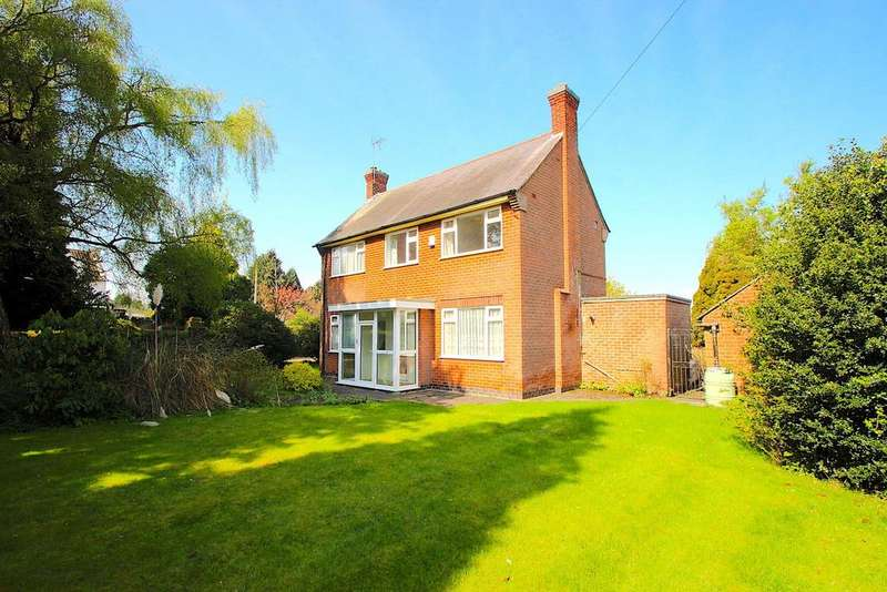 3 Bedrooms Detached House for sale in Hinckley Road, Leicester Forest East
