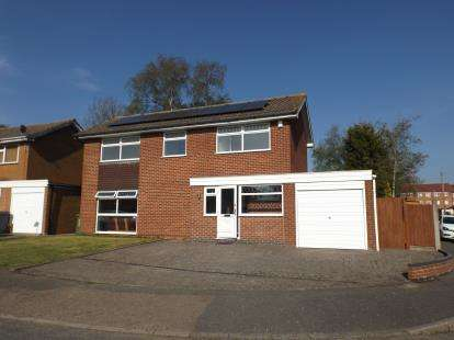 4 Bedrooms Detached House for sale in Chater Close, Leicester, Leicestershire