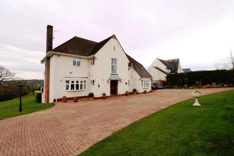 4 Bedrooms Detached House for sale in Sluvad Road, New Inn, Pontypool, NP4
