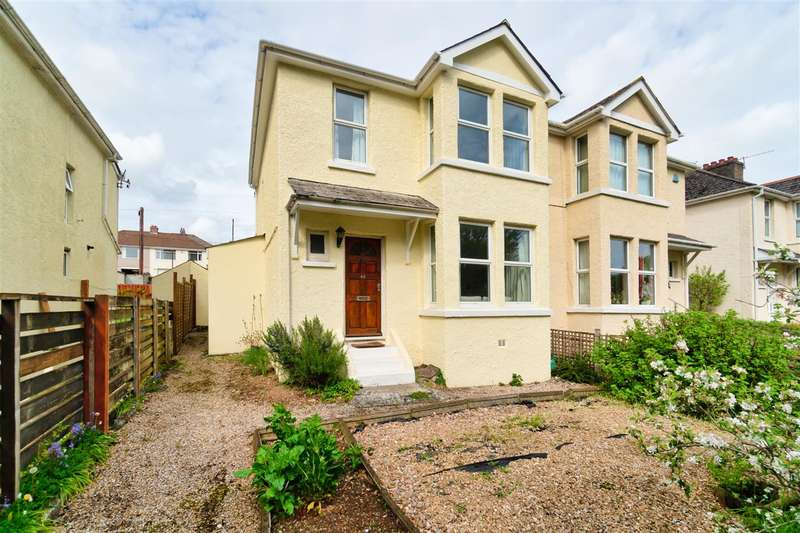 3 Bedrooms Semi Detached House for sale in Plymouth Road, Plymouth