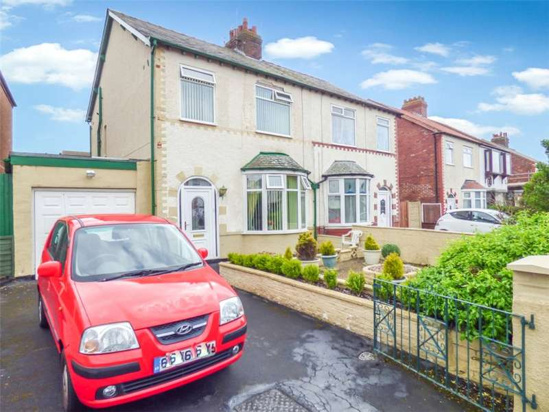 3 Bedrooms Semi Detached House for sale in North Drive, Bispham, Blackpool
