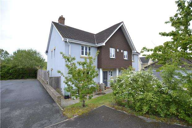 4 Bedrooms Semi Detached House for sale in Kingfisher Close, Brentry, Bristol, BS10 6UA