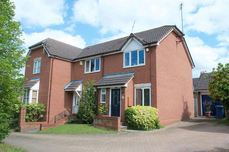 2 Bedrooms End Of Terrace House for sale in Samian Place, Binfield, RG42