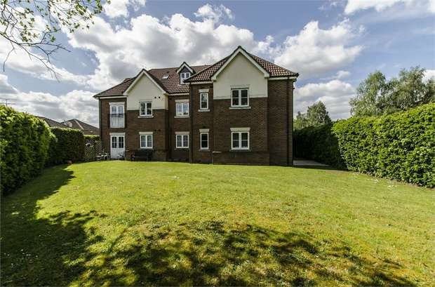 2 Bedrooms Flat for sale in Bowman Lodge, Shakespeare Road, Boyatt Wood, Eastleigh, Hampshire
