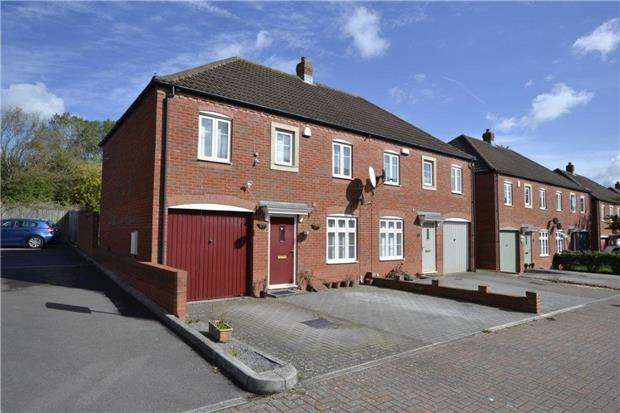 3 Bedrooms Semi Detached House for sale in Blandamour Way, Bristol, BS10 6WE