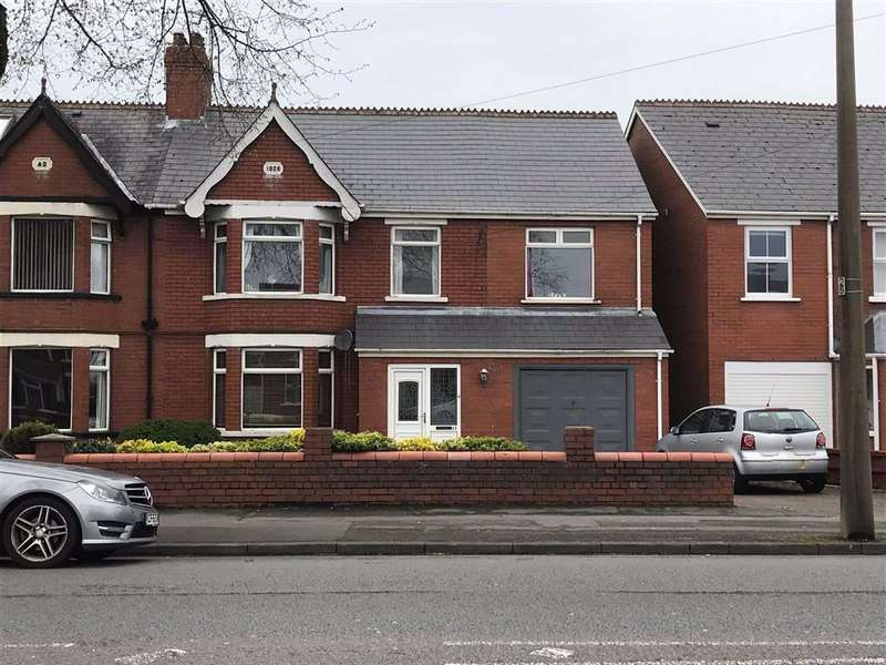 4 Bedrooms Semi Detached House for sale in Colcot Road, Barry