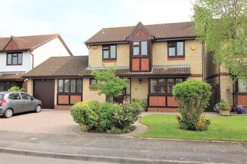4 Bedrooms Detached House for sale in Lavender Close, Thornbury, Bristol