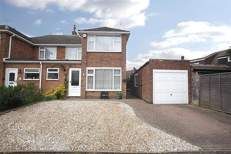 3 Bedrooms Semi Detached House for sale in Forrest Crescent, Luton, Bedfordshire, LU2