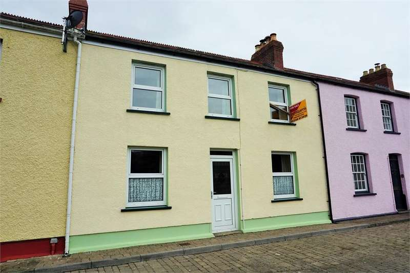 3 Bedrooms Town House for sale in 7 Quay Street, Lower Fishguard, Pembrokeshire