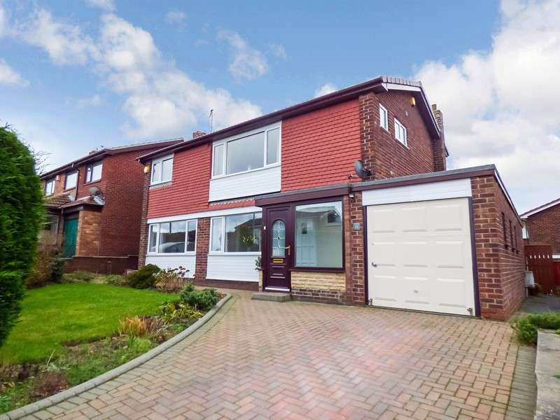 4 Bedrooms Property for sale in Lesbury Avenue, Stakeford, Stakeford, Northumberland, NE62 5YD