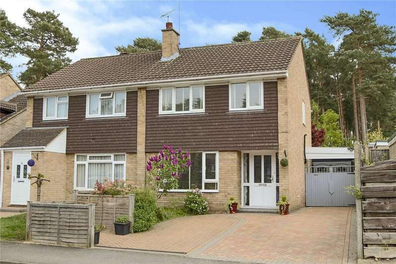 3 Bedrooms Semi Detached House for sale in Brunswick, Bracknell, Berkshire, RG12