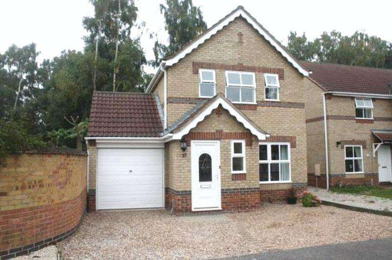 3 Bedrooms Detached House for sale in Limetree Close, Lincoln