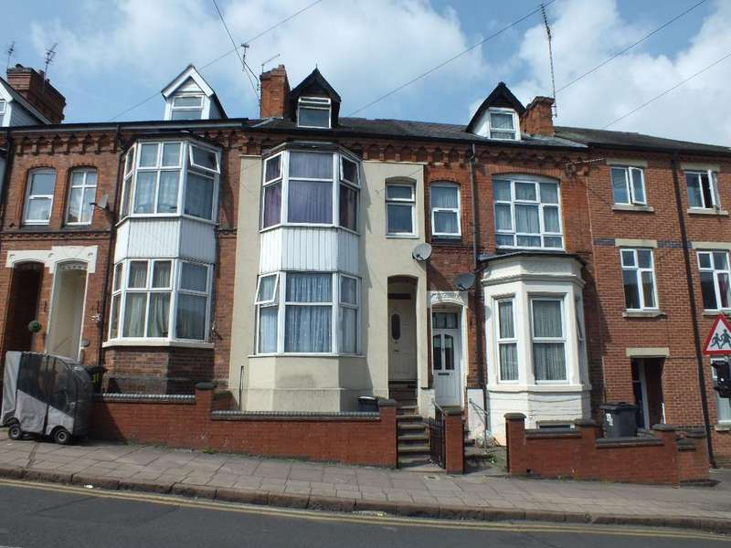 5 Bedrooms Terraced House for sale in Mere Road, Off Green Lane Road, Leicester, LE5 3HS