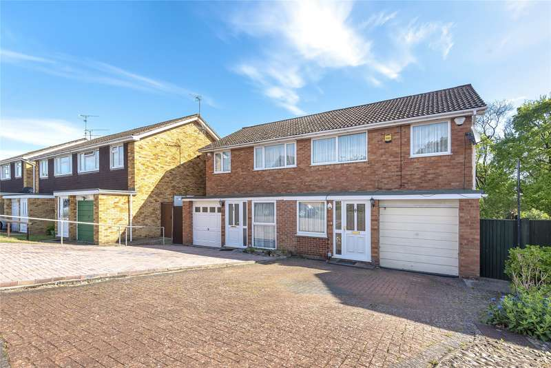 3 Bedrooms Semi Detached House for sale in Hardwick Road, Tilehurst, Reading, Berkshire, RG30