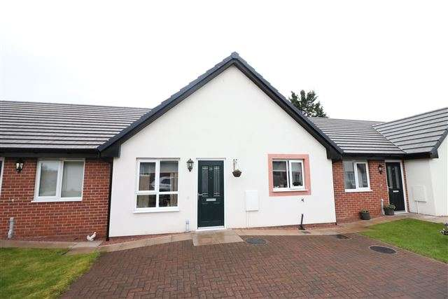 1 Bedroom Bungalow for sale in Sycamore Drive, Longtown, Carlisle, Cumbria, CA6 5NZ
