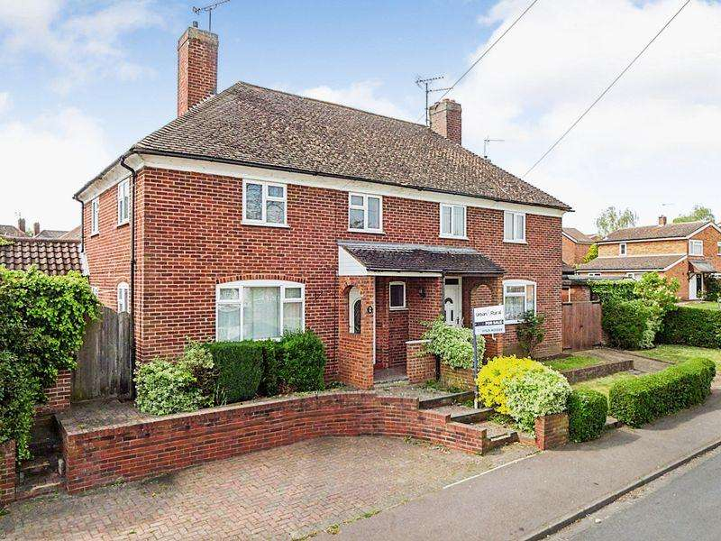 3 Bedrooms Semi Detached House for sale in Willow Way, Ampthill