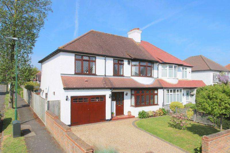 4 Bedrooms Semi Detached House for sale in Redford Avenue, Wallington