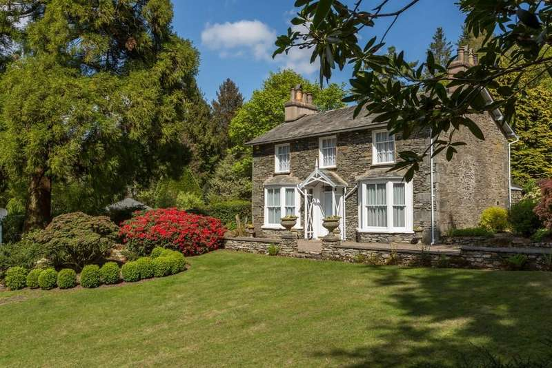 4 Bedrooms Detached House for sale in Fell Foot Cottage, Newby Bridge, Ulverston, LA12 8NN