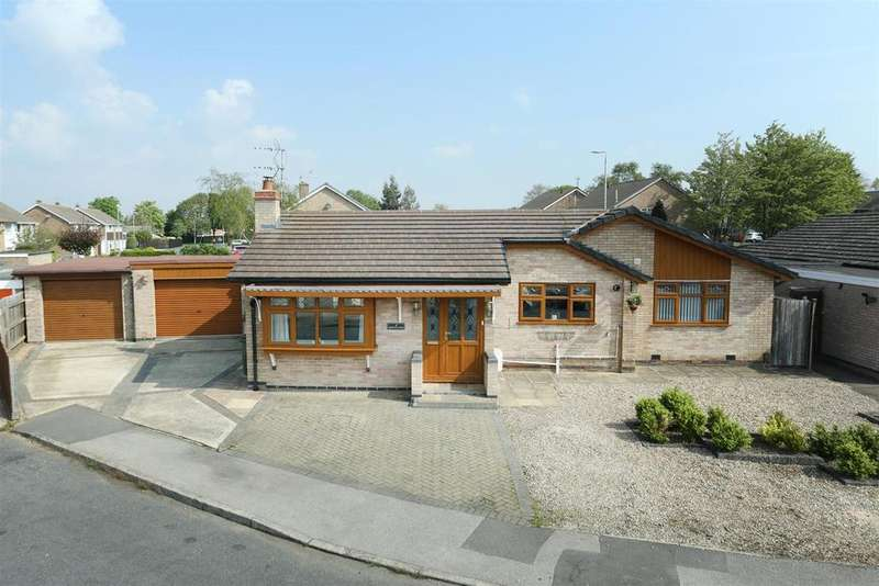 3 Bedrooms Detached Bungalow for sale in Gayhurst Close, Wigston