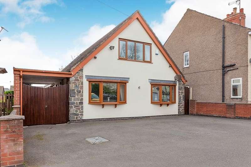 4 Bedrooms Detached House for sale in Ashburton Road, Hugglescote, Coalville, LE67