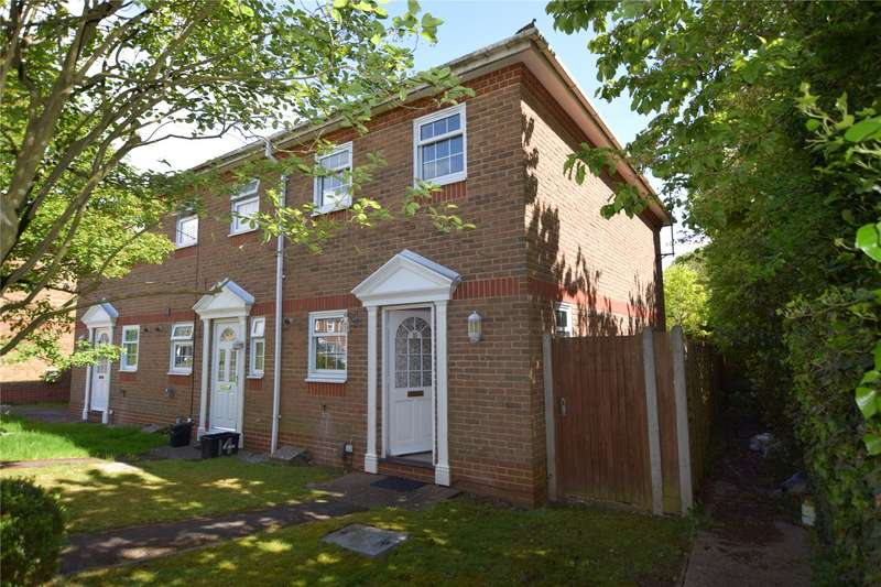 2 Bedrooms End Of Terrace House for sale in Turnbridge Close, Lower Earley, Reading, Berkshire, RG6
