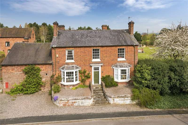 5 Bedrooms Detached House for sale in The Manor, Standford Bridge, Chester Road, Newport, Shropshire, TF10