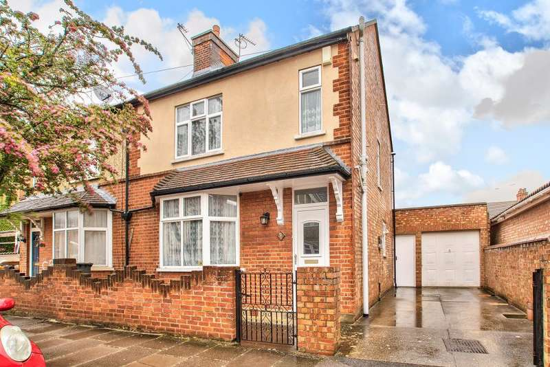 3 Bedrooms Semi Detached House for sale in Ouseland Road, Bedford, Bedfordshire, MK40 4NX