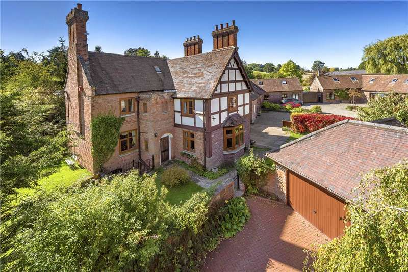 6 Bedrooms Detached House for sale in St Peters House, Monkhopton, Nr Bridgnorth, Shropshire, WV16