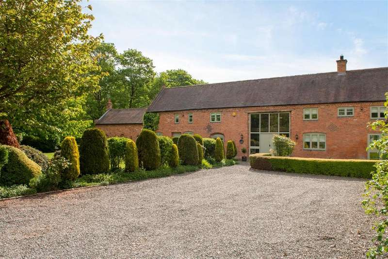 4 Bedrooms Barn Conversion Character Property for sale in Kingsbrook Court, Stanford on Soar