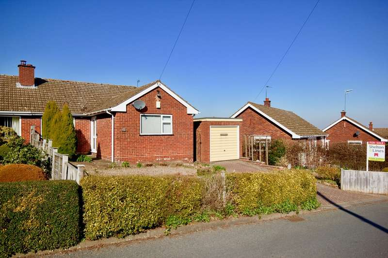 2 Bedrooms Semi Detached Bungalow for sale in Cowleigh Bank, Malvern, WR14