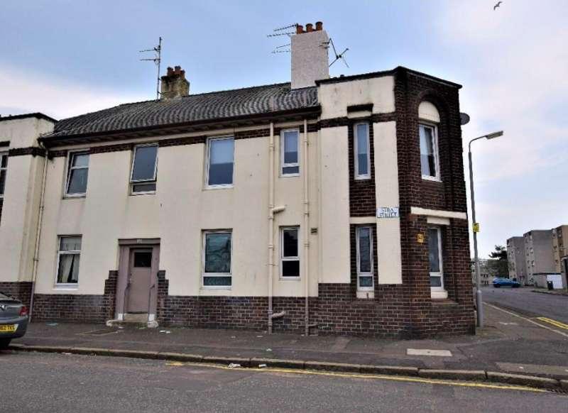 3 Bedrooms Ground Flat for sale in Elba Street, Ayr KA8