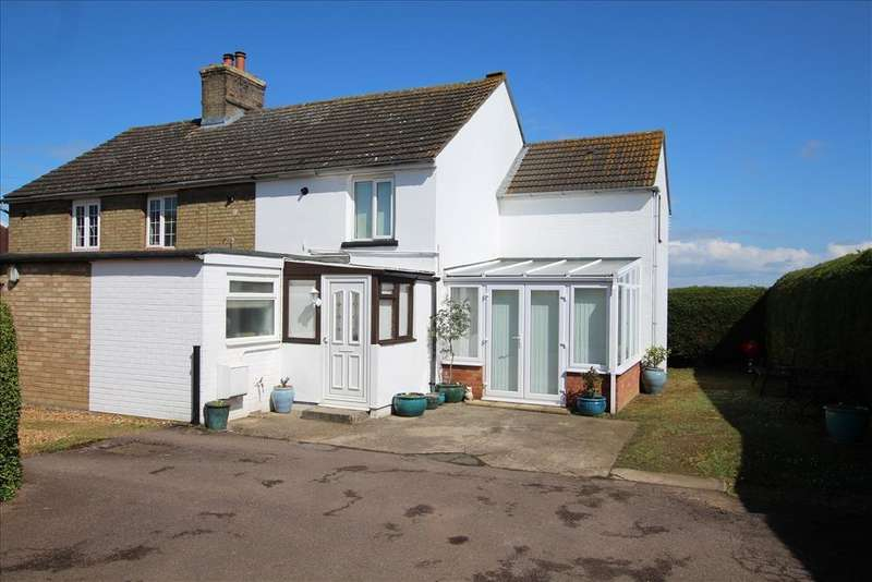 3 Bedrooms End Of Terrace House for sale in Dynes Place, Moggerhanger, MK44
