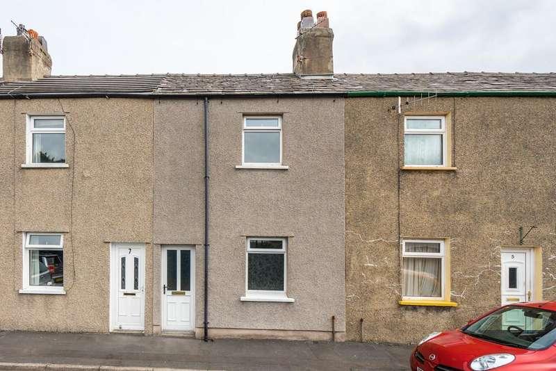 3 Bedrooms Terraced House for sale in Mary Street, Millhead, Carnforth, LA5 9HJ