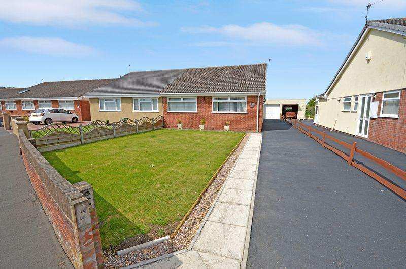 3 Bedrooms Semi Detached Bungalow for sale in Elsbert Drive, Bristol