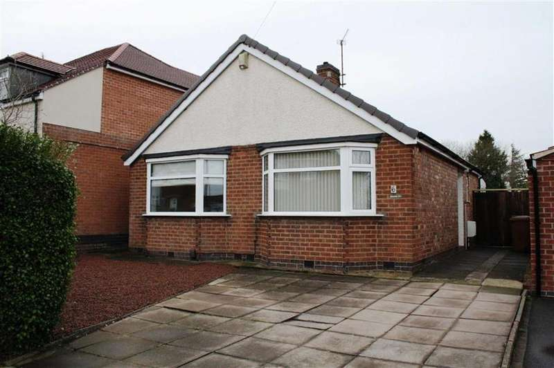 2 Bedrooms Detached Bungalow for sale in Marina Drive, Groby
