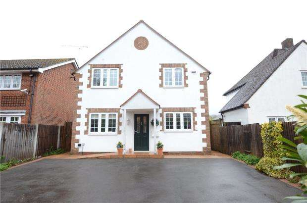 4 Bedrooms Detached House for sale in Richmond Road, Caversham, Reading