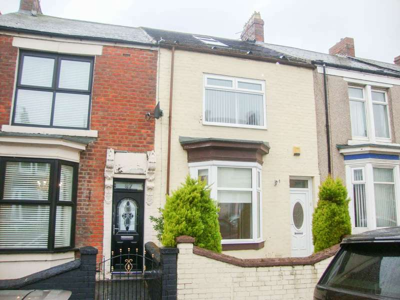3 Bedrooms Terraced House for sale in Baring Street, South Shields
