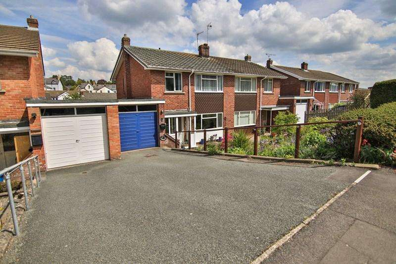 3 Bedrooms Semi Detached House for sale in Cresta Road, Abergavenny