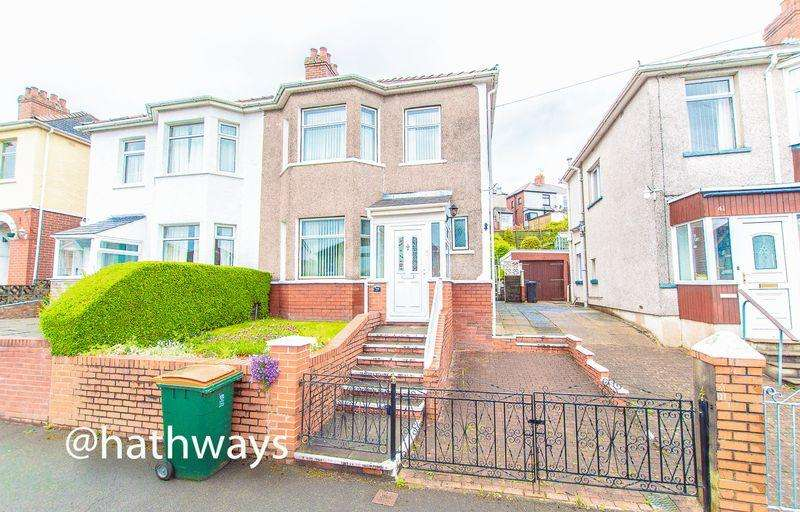 3 Bedrooms Semi Detached House for sale in Tennyson Road, off Chepstow Road, Newport