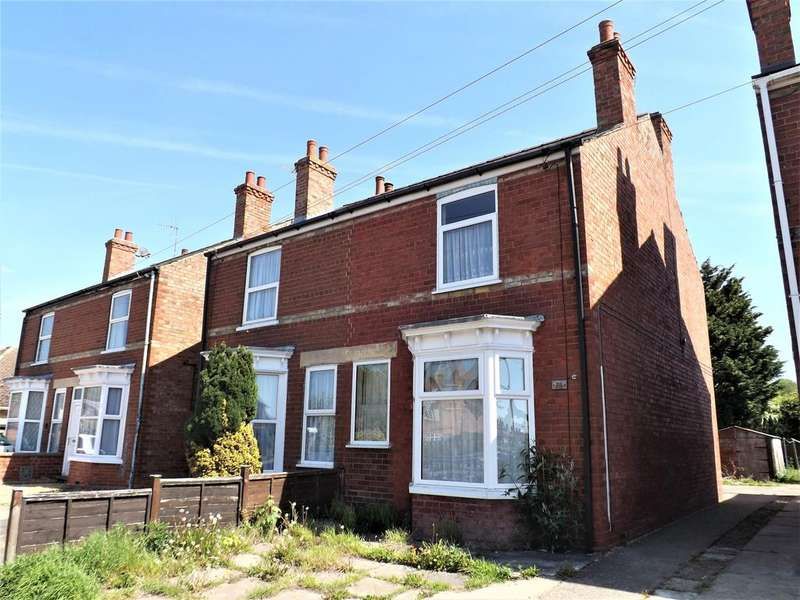 3 Bedrooms Semi Detached House for sale in Carrington Road, Spalding
