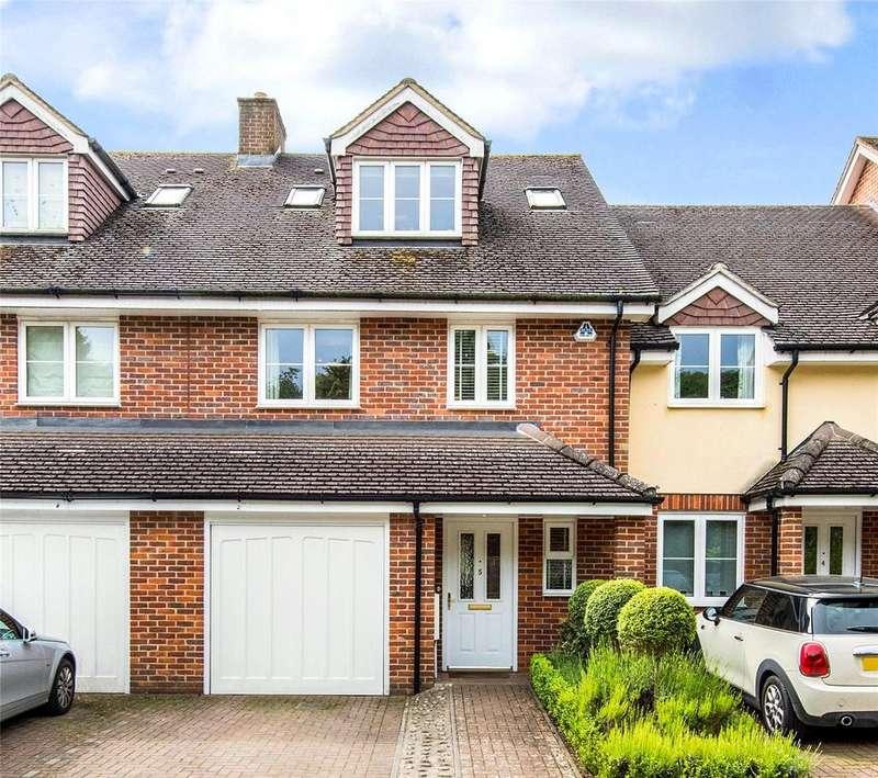 4 Bedrooms Terraced House for sale in White House Court, Chesham Road, Amersham, Buckinghamshire, HP6