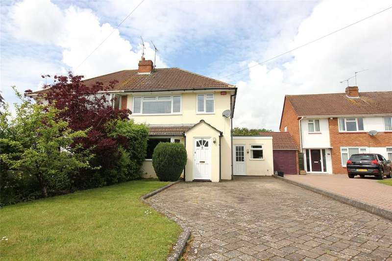 3 Bedrooms Semi Detached House for sale in Silver Fox Crescent, Woodley, Reading, Berkshire, RG5