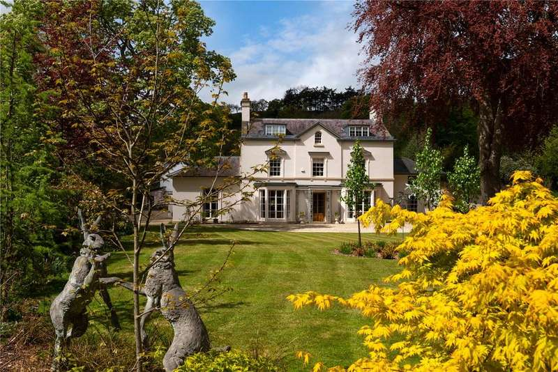 6 Bedrooms Detached House for sale in Milford, Newtown, Powys
