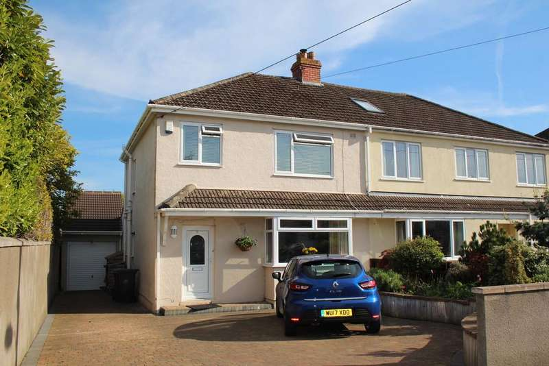 4 Bedrooms Semi Detached House for sale in Established central Yatton location